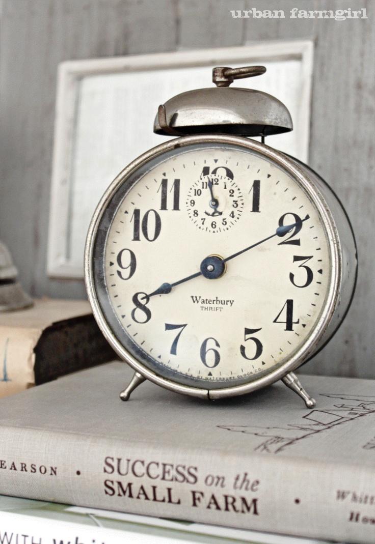 Alarm Clock@Urban Farmgirl