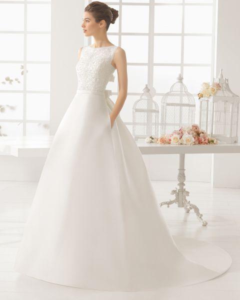 Vestidos de novia cuello barco 2016: Elegancia y sofisticación Image: 23