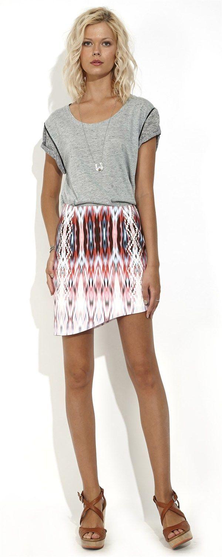 Aztec Jewel Skirt by Wish