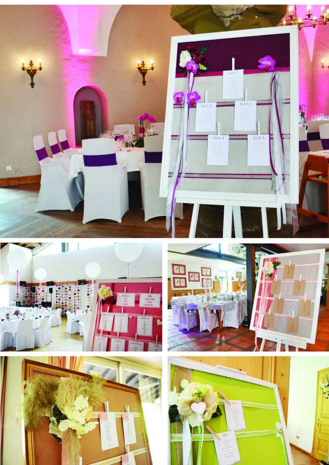 Mit unseren #Staffeleien und dem #dekorierten #Bilderrahmen weiß jeder #Gast auf der #Hochzeit dank der #Tischordnung wo er zu sitzen hat =) Welche gefällt euch am besten? #Vintagestyle #Rustikal oder doch #Edel und #Glamourös - #wedding #decoration #inspiration #ideas #table #regulation