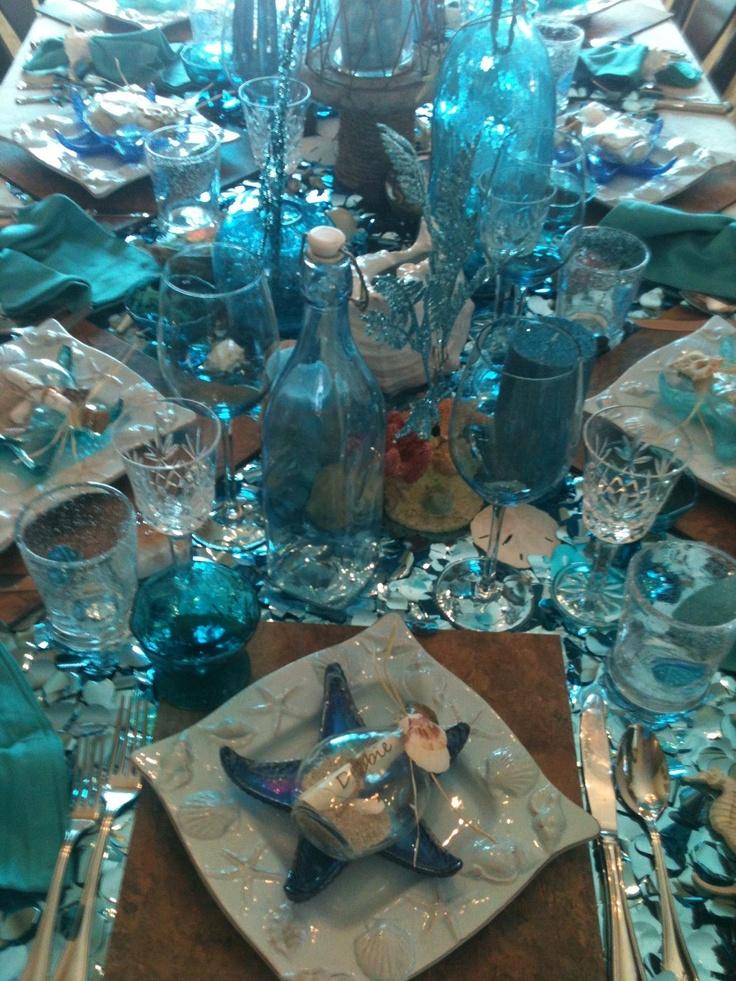 Under The Sea Beach Themed Dinner Party