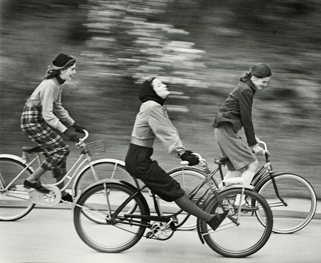 riservatopersonale:  The bicyclers, Hermann Landshoff, 1949