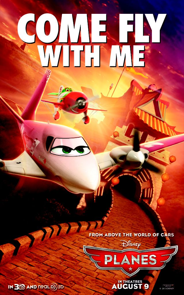 New Disney Planes Character Posters – Very Fun!