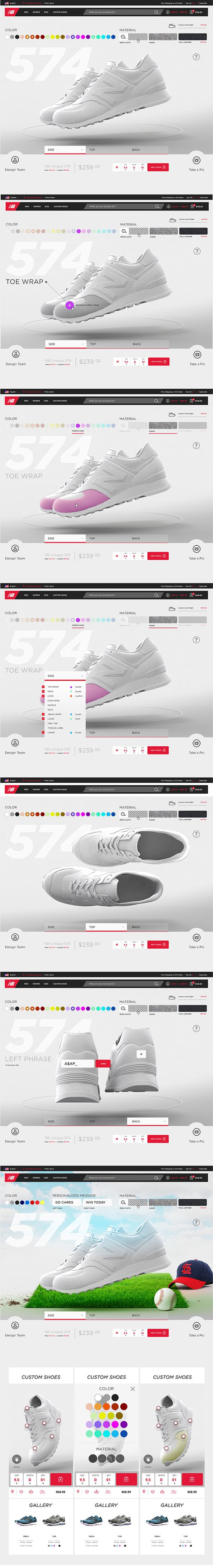 New Balance on Web Design Served