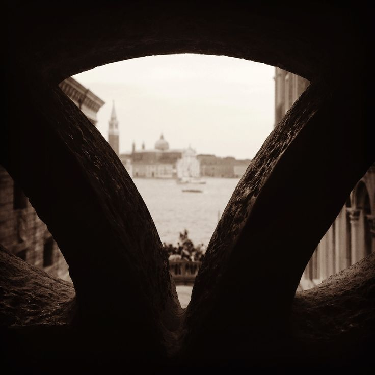 THE VIEW FROM: Venice - Bridge of Sights  Our point of view biases our observation, consciously and unconsciously. You cannot understand the view without the point of view.