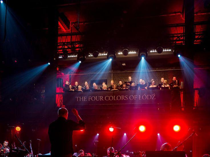 Koncert The Four Colors of Łódź  na zdjęciu: chór Collegium Cantorum, Zbigniew Preisner  foto: Mikołaj Zacharow