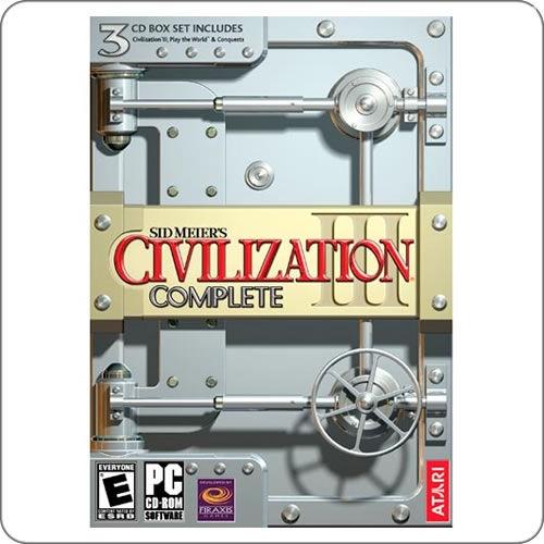 PC Civilization III Complete R$44.90