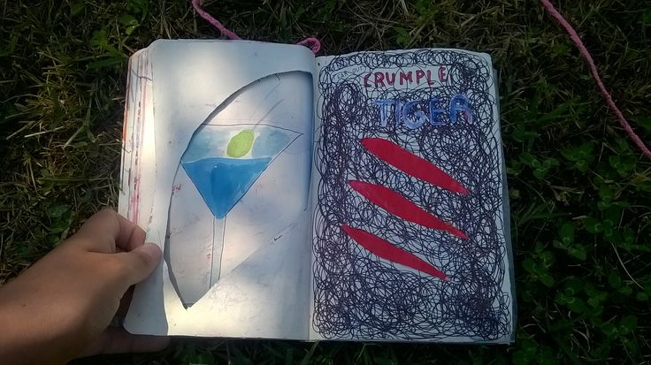 wreck this journal: TEAR OUT CRUMPLE