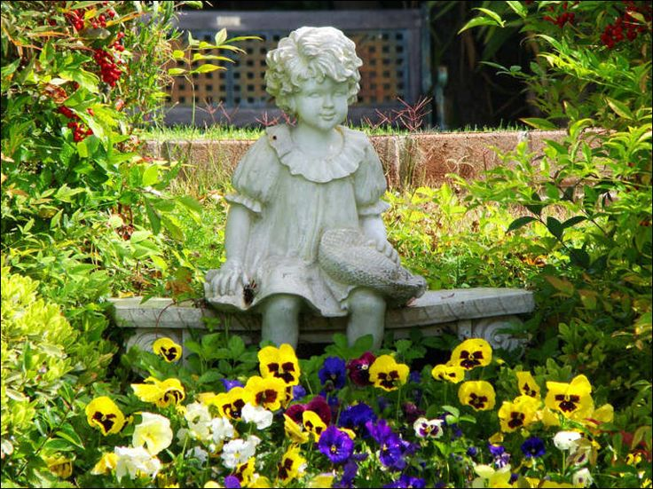 Lawn And Garden Ornaments | Decor For The Outdoors   For Landscaping Ideas,  Images And