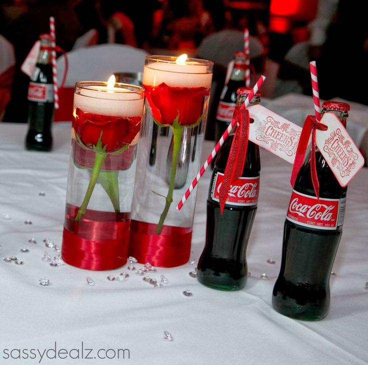 DIY Coca-Cola Bottle Wedding Favor Idea - Sassy Dealz