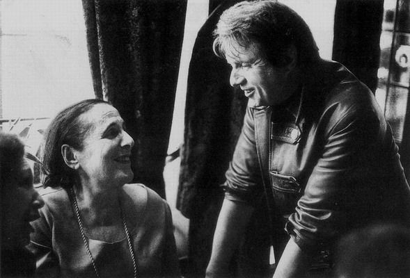 Francis Bacon with Muriel Belcher at Colony Club