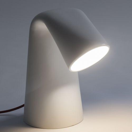 Table lamp / original design / ceramic / white KINA by Marco Zito BOSA