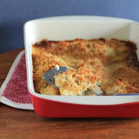Baked Lemon Sole with Parmesan Crust for #WeekdaySupper