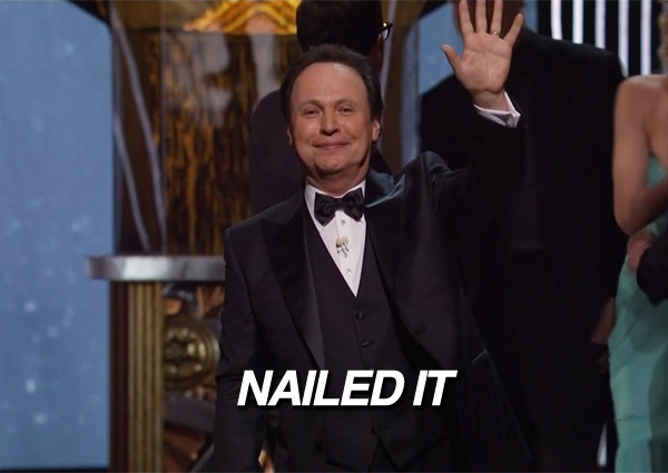 And there you have it, you guys. The OSCARS!