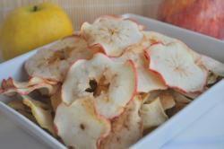 recette de cuisine chips de pommes light séchées au four.  ´´´