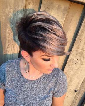 Krótkie Włosy 2016 Fryzury Pinterest Short Hair Styles Hair