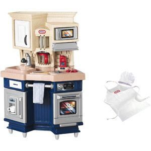 Kitchen for Blake, $60.00 at walmart with free site to store.  Comes with free chef hat and apron