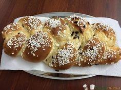treccia pan brioche uvetta bimby