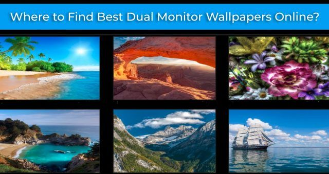 Where to Find Best Dual Monitor Wallpapers Online
