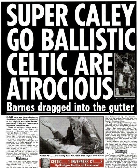 Our newspaper headlines are legendary. | 40 Reasons Scotland Is Better Than England