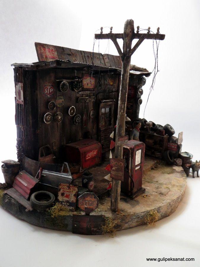 diorama scale 1:24