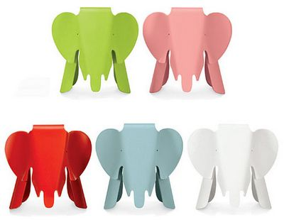 Colorful Elephant Eames Chair by Vitra #elephants #kids