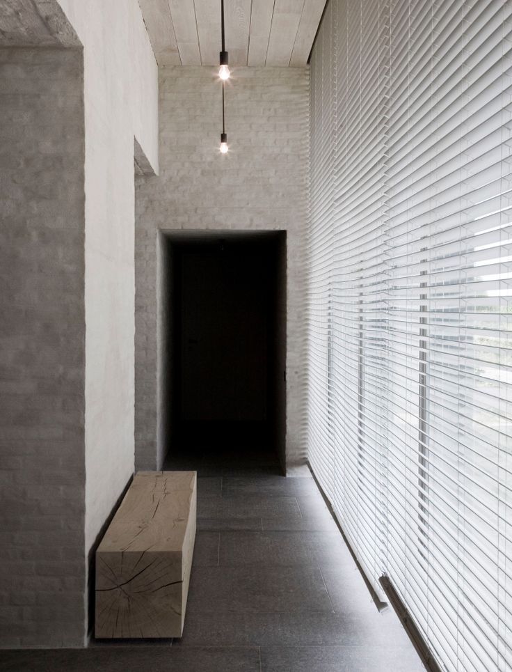Modern meets rustic - Residence by Vincent Van Duysen.
