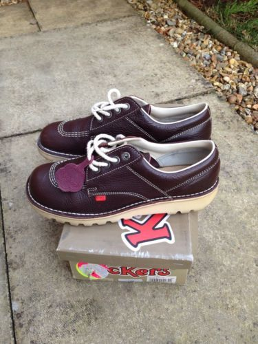 Wish these were smaller! VINTAGE 80S CASUAL KICKERS KICK LO MADCHESTER BAGGY RAVE ACID 43 UK 9 RARE   eBay