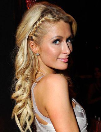 Get The Look: Paris Hilton's Half Headband Braid - Daily Makeover