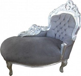 //.casa-padrino.de/casa-padrino-  sc 1 st  Pinterest : chaise lounge grey - Sectionals, Sofas & Couches