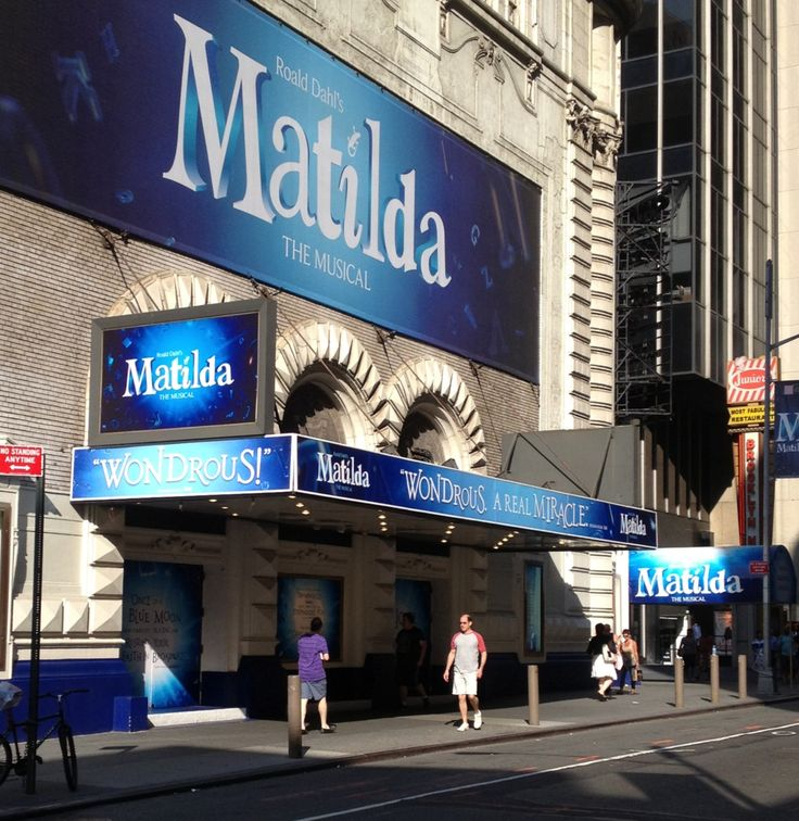 Taking the girls to see Matilda on Broadway on our next trip to NYC!