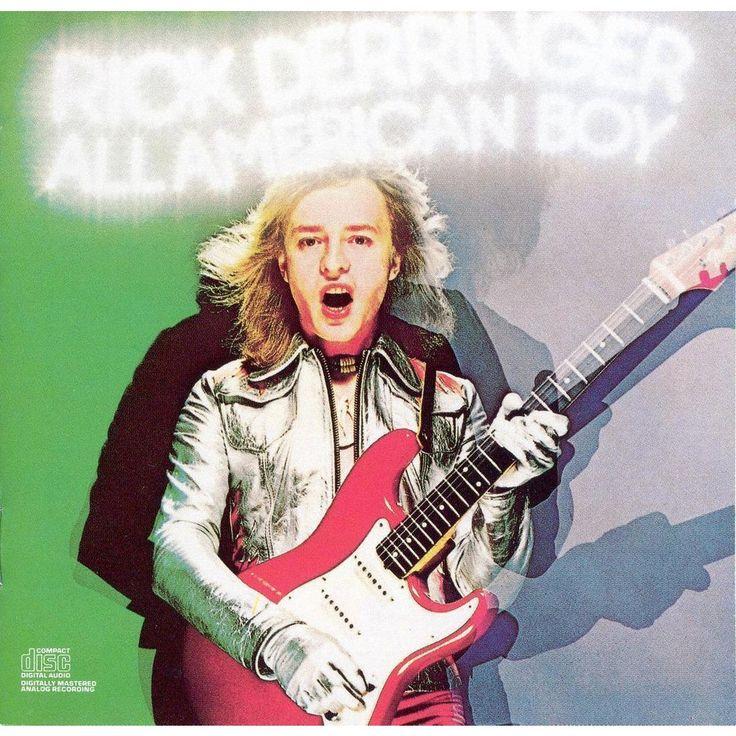 Rick Derringer - All American Boy (CD)