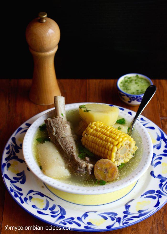 Sancocho de Costilla (Beef Ribs Sancocho)
