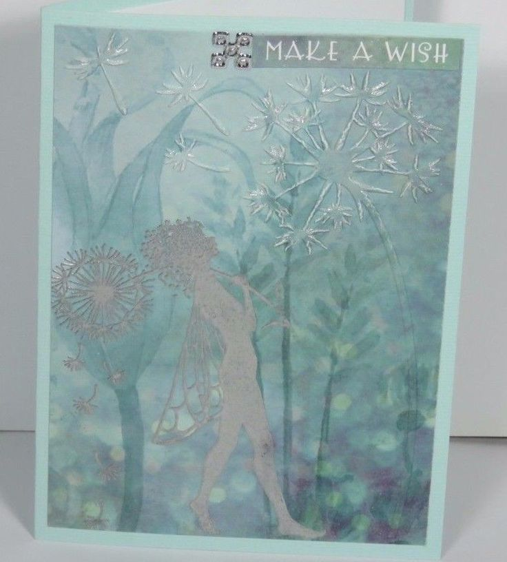 Handmade  Greeting  , Card  ,  Birthday , Gift , Any occasion, Fairy , Magic
