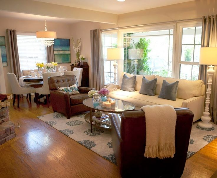 Design Ideas For Living Room And Dining Combo