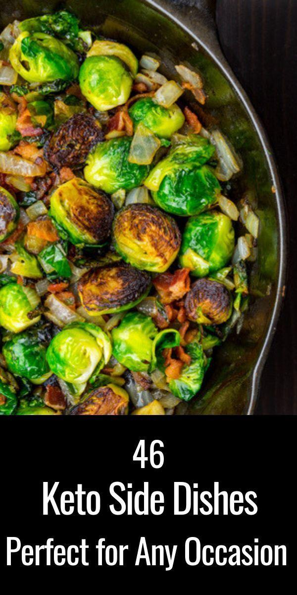 46 Rezepte für Keto-Beilagen: Die kohlenhydratarmen Seiten, die das Abendessen zu einer Mahlzeit machen