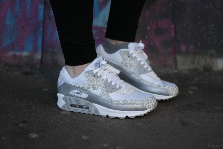 Air Max 90 White Leopard - Click Image to Close