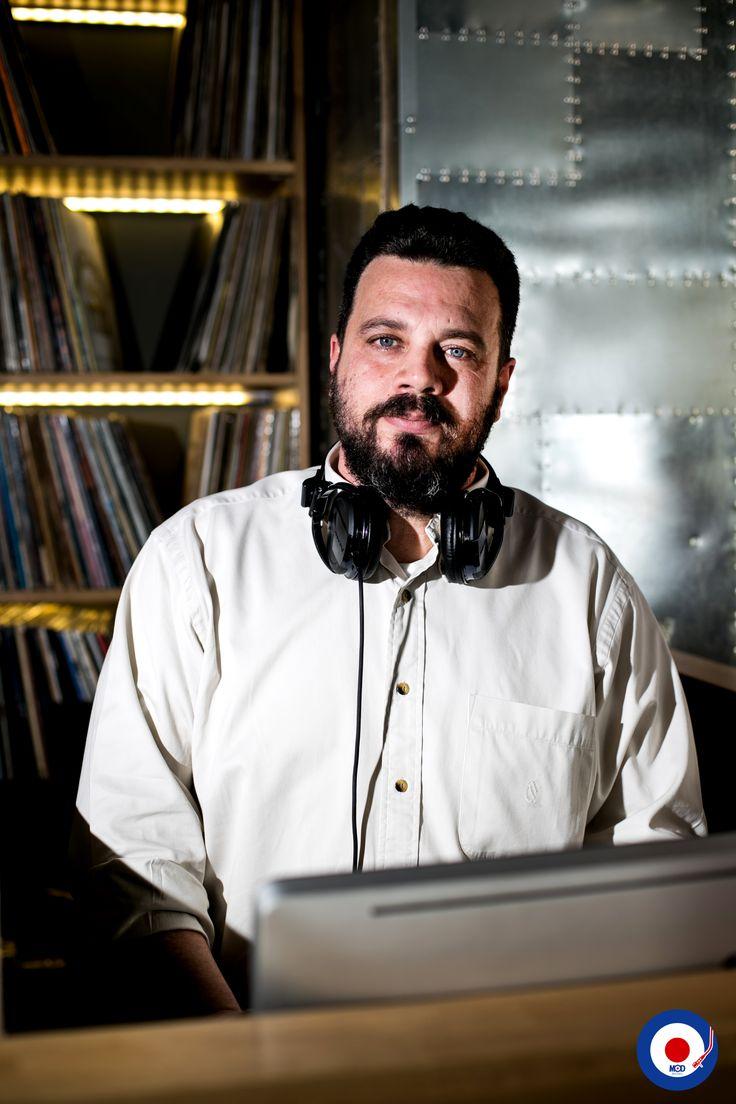 Theodoros Karayiannis: Resident Dj at MOD cafebar. Every Friday #modcafebar #wearethemods #residentdjs #djs #mod #rhodes #greece #vinyllovers #ilovevinyl #modknowsmusic #djportraits