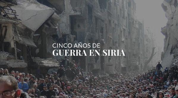 Sigue las últimas noticias sobre la Guerra en Siria y repasa los últimos años de conflicto con EL PAÍS.