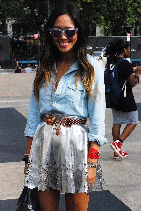 New York Fashion Week Street Style part 1