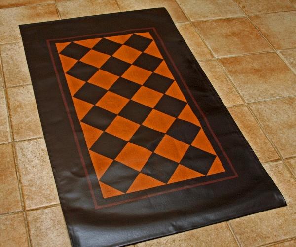 199 Best Floor Cloths Images On Pinterest Painted Floors