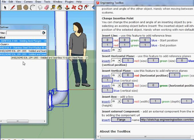 The Engineering ToolBox is the newest sketchup plugin available in