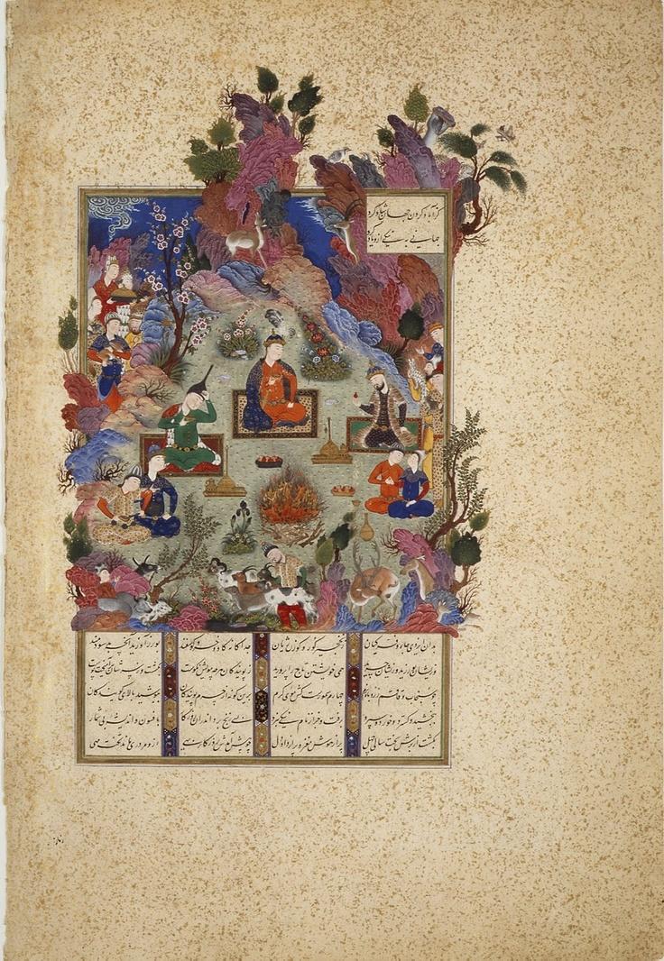 """dal """"Schahname di Firdusi"""" realizzato da Sultan Mohamed e scuola"""
