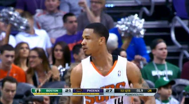 Watch: Gerald Green's Double Pump Dunk #Getmybuzzup- http://getmybuzzup.com/wp-content/uploads/2014/02/Gerald-Green.jpg- http://getmybuzzup.com/watch-gerald-greens-double-pump-dunk-getmybuzzup/- Gerald Green's Double Pump Dunk Gerald Green jumps from just in front of the free throw line for the sick dunk.  Follow me: Getmybuzzup on Twitter | Getmybuzzup on Facebook | Getmybuzzup on Google+ | Getmybuzzup on Tumblr | Getmybuzzup on Linkedin | Getmybuzzup on Pin