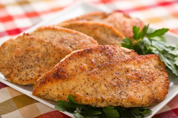 Golden Chicken Cutlets: A Quick Dinner - with lots of ideas of how to create different meal options with them