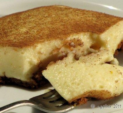 <p>Celebrate National Milk Tart Day: Crustless milk tart</p>