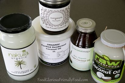 Coconut Oil Review.  My comprehensive guide to coconut oils!  http://www.foodgloriousfriendlyfood.com/blog-and-recipes/review-of-coconut-oils