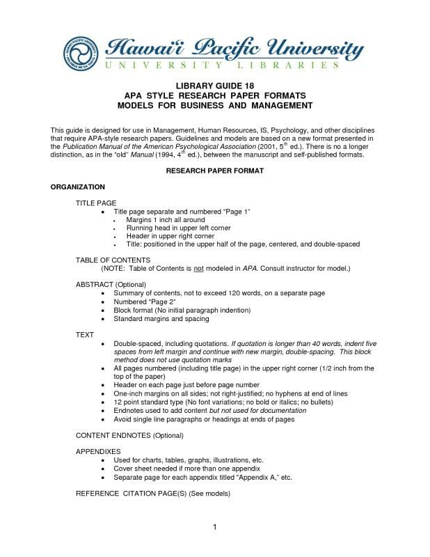 Research Report Format Essay Paper Writing Help Example Of Abstract In About Business