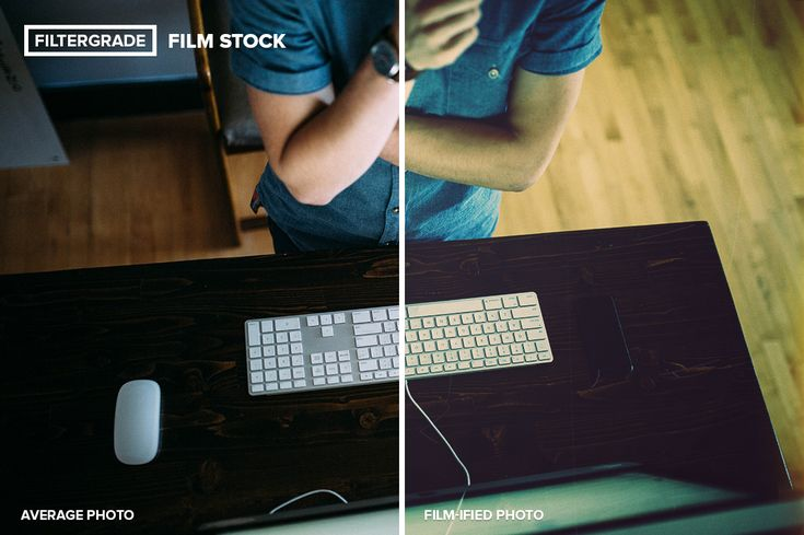 A before and after look at FilmStock. Add analog looks, dust & scratch brushes, and more to your photos in seconds.