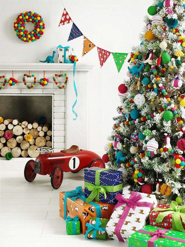 Adornar de navidad deco decoracion de navidad arbol - Adornar escaparate navidad ...